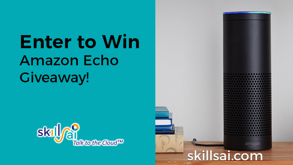 amazon echo alexa giveaway